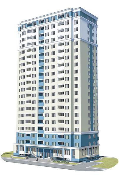 Жилой комплекс на ул. Богдана Хмельницкого